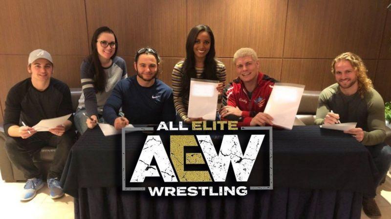 All Elite Wrestling - New kids on the block
