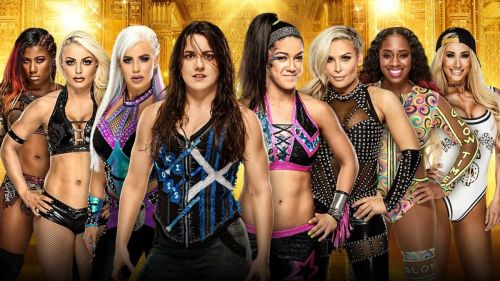 These eight women will compete in the Money in the Bank Ladder Match.