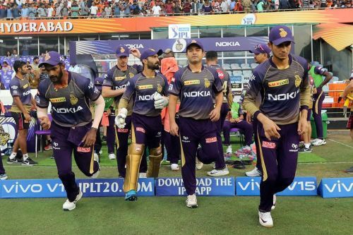 The KKR players (picture courtesy: BCCI/iplt20.com)