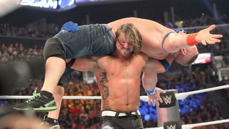 Styles definitively won the feud between the pair back in the summer of 2016.