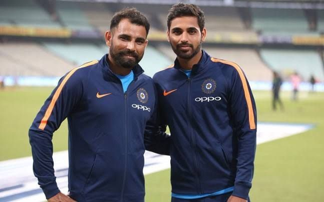 Bhuvneshwar and Shami both have similar numbers since October 2018