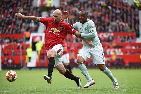 Jaap Stam was at his combative best during the Legend