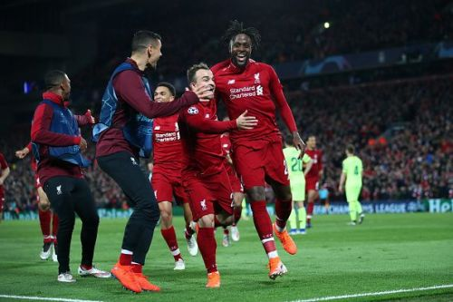 Origi and Shaqiri not only started, but played a crucial role for their side in a CHAMPIONS LEAGUE SEMI FINAL.