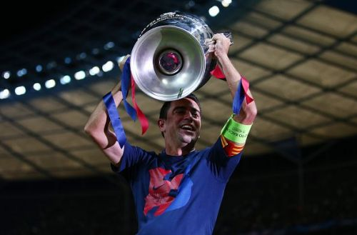 Former Barcelona legend Xavi retired at the end of 2018/19