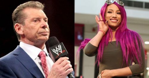 The Boss isn't wasting the opportunity to get on the WWE boss's nerves.