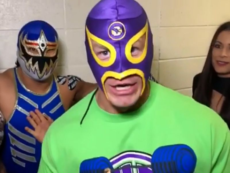 Juan cena in lucha house party