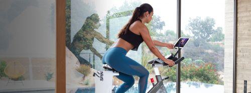Image result for Exercise Bike poster girl