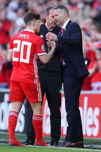 Ryan Giggs has been impressed with Daniel James this season