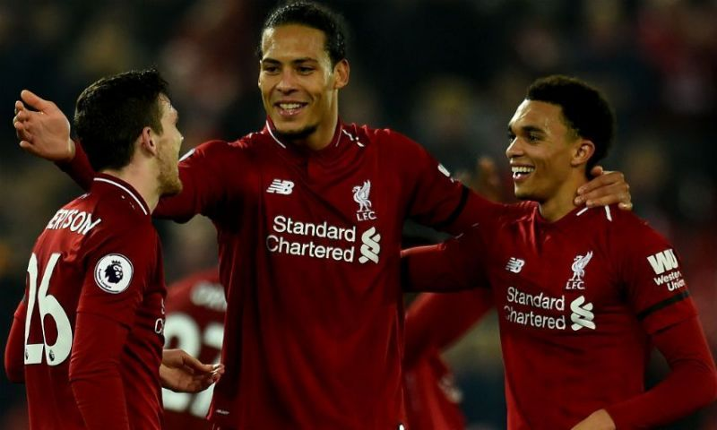 Andy Robertson, Van Dijk and Alexander-Arnold have been on fire this season