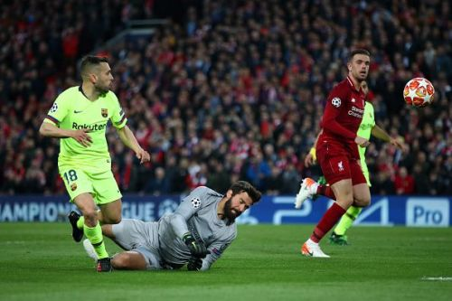Alisson made several key saves and denied Barcelona the cruical away goal they needed to get through to the final. Origi and Shaqiri not only started, but played a crucial role for their side in a CHAMPIONS LEAGUE SEMI FINAL.