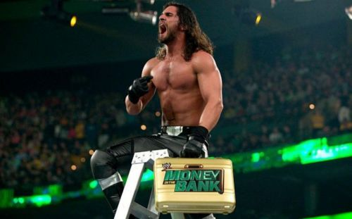 Seth Rollins ascended the heights of WWE, figuratively and literally, in 2014's Smackdown MITB match.
