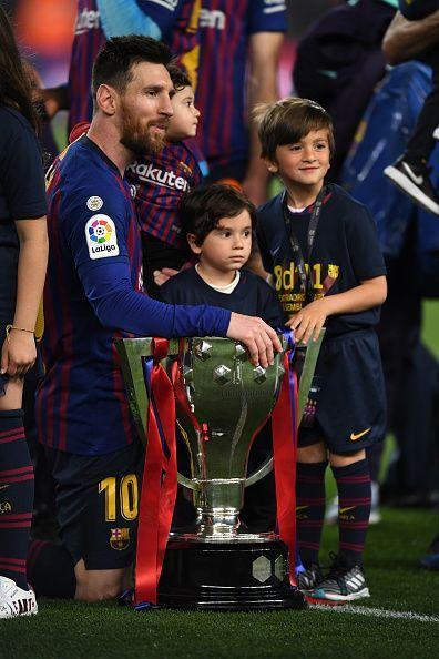 FC Barcelona v Levante UD - La Liga. Messi won his 10th La Liga title