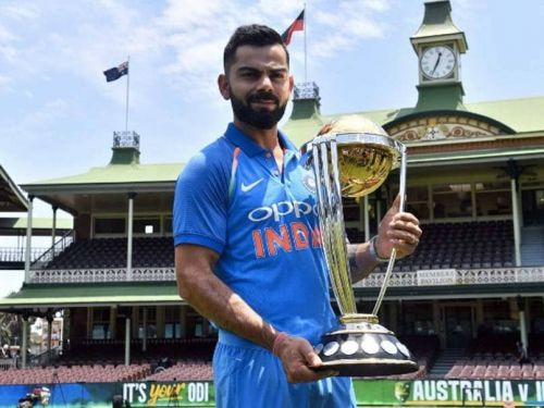 Kohli to captain India in world cups for the first time