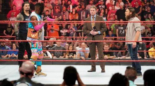 Why did Kofi Kingston appear on Raw last night on his own?