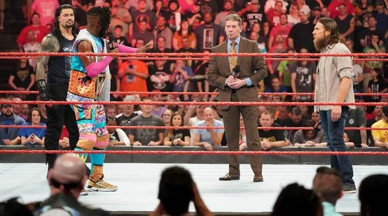 Why did Kofi Kingston appear on Raw last night on his own?