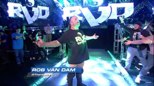 Rob Van Dam has come back to Impact Wrestling again