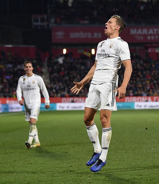 Marcos Llorente failed to make an impression in the game.