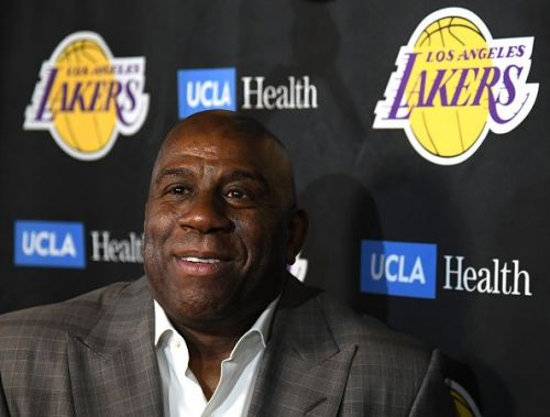 Following two years with the franchise, Magic Johnson exited the Lakers back in April