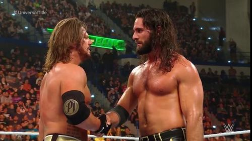 AJ Styles vs Seth Rollins was amazing!
