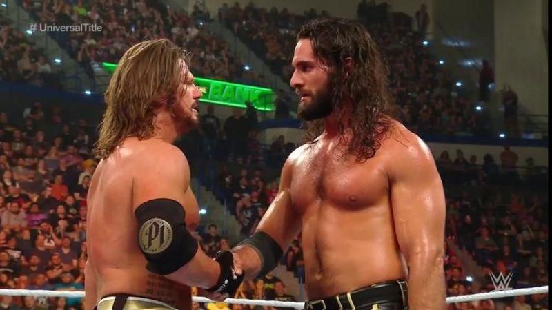 AJ Styles vs Seth Rollins was amazing!