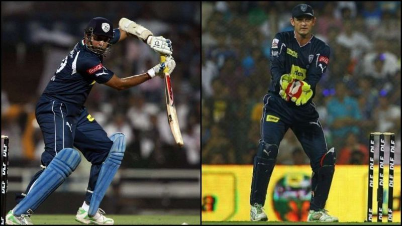 Laxman and Gilchrist - Image Courtesy ( BCCI/IPLT20.com)