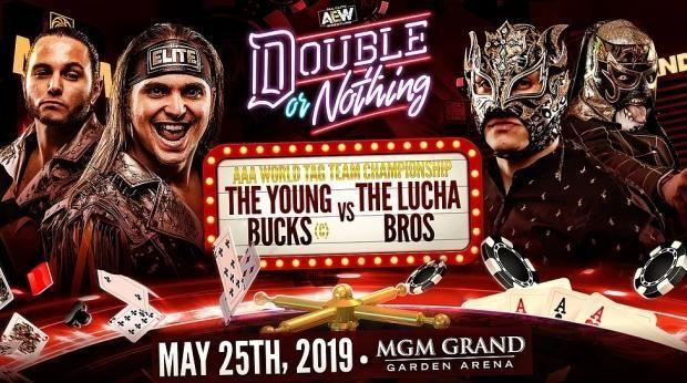 The Young Bucks vs. The Lucha Bros.