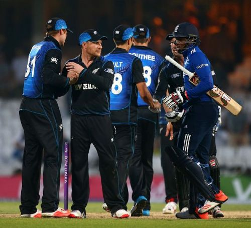 England v New Zealand - 2nd ODI Royal London One-Day Series 2015