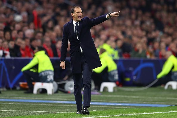 Allegri will depart from Juventus after a successful five-year stint with the club.