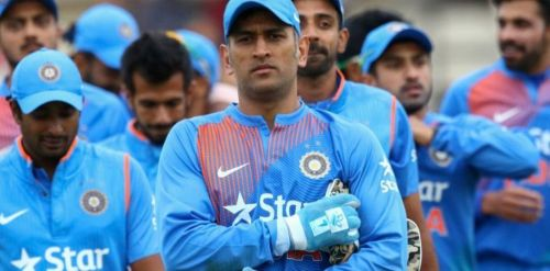 Mahendra Singh Dhoni led the Indian team for almost a decade