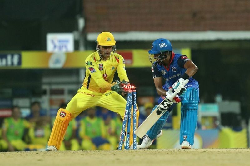 Dhoni, as usual, was lightning behind the stumps and completed two stumpings in today