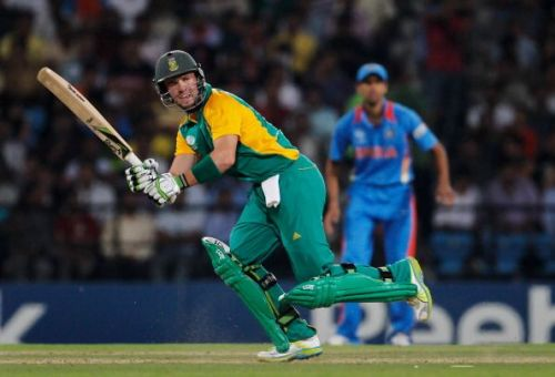 AB de Villiers is South Africa's highest run-getter in World Cup history