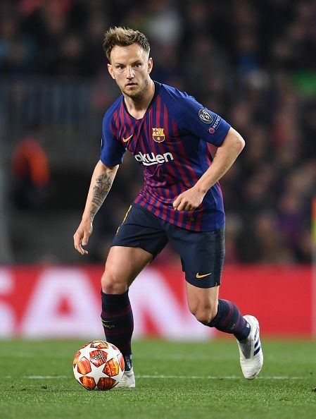 Rakitic pulls the strings for La Blaugrana from the centre of the park