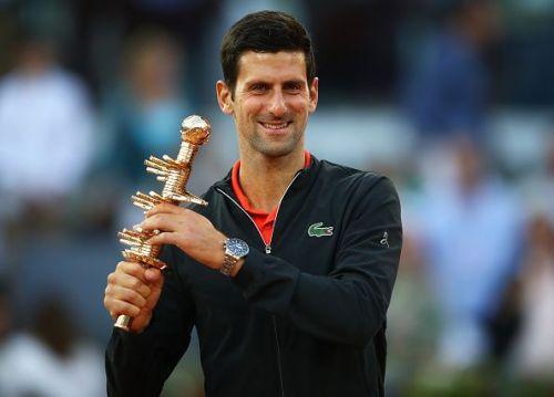 Novak Djokovic wins his 3rd title at Madrid