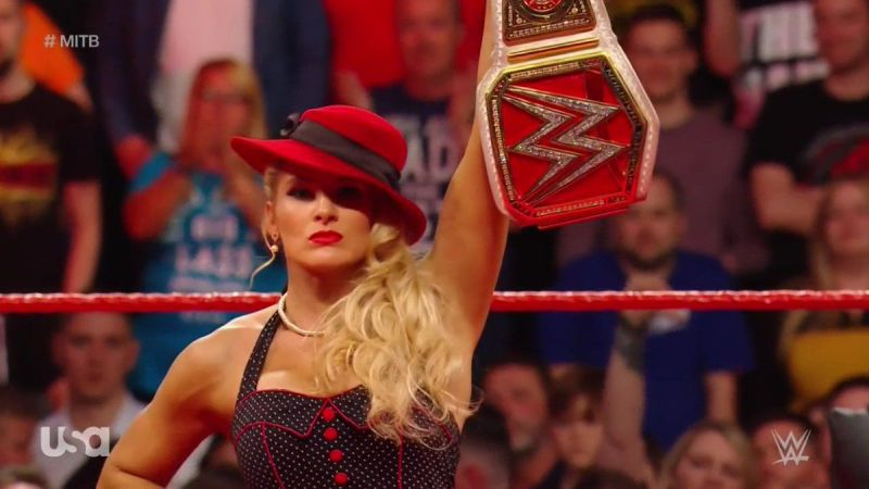 Lacey Evans could leave Money in the Bank with the Raw Women