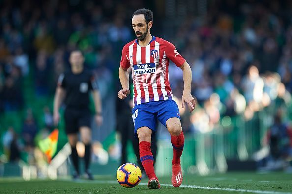 Long-serving stalwarts like Juanfran are on their way out
