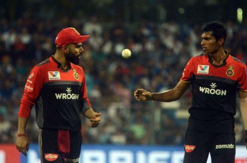 Saini was the go-to-bowler for Virat Kohli in IPL (Image Courtesy: BCCI/IPLT20.com)