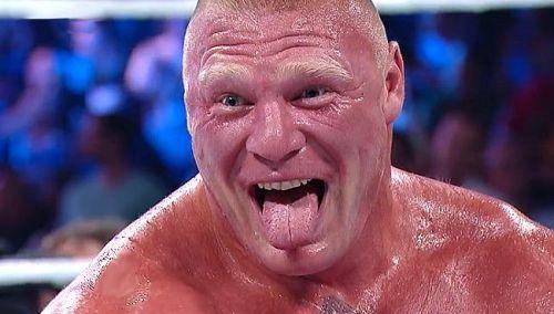 Brock Lesnar's is a true heel