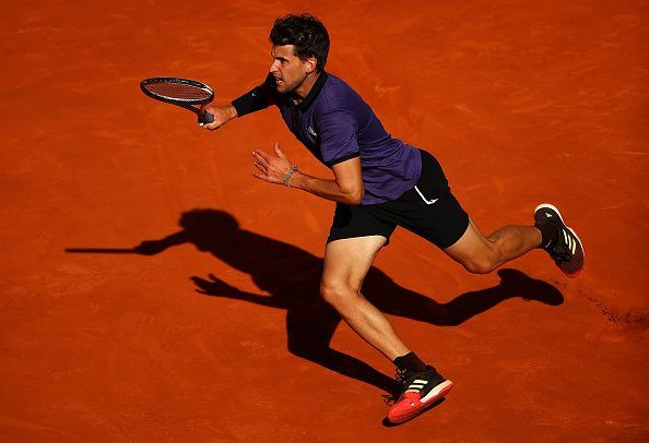 Dominic Thiem was equal to the task on Friday, at the Mutua Madrid Open