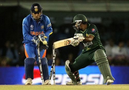 India and Pakistan clashed in the semi-finals of the 2011 World Cup