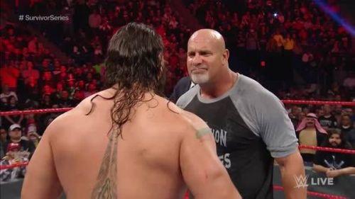 Goldberg and rusev