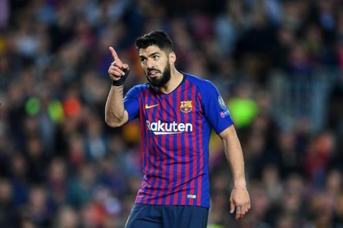 Suarez has been ruled out due to injury