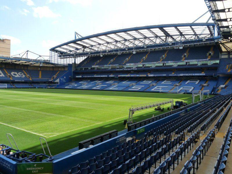 Enter caption Chelsea Stadium
