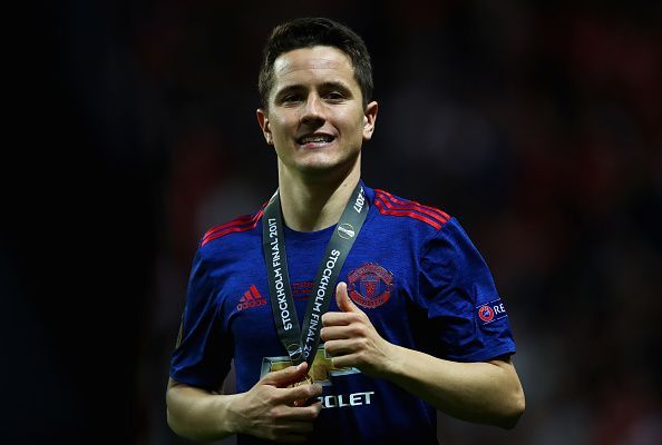 Herrera helped United win the Europa League with solid performances