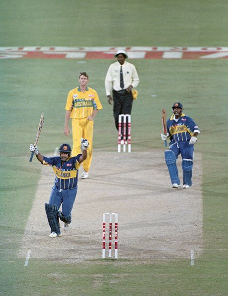 Sri Lanka Win the 1996 ICC Cricket World Cup Final v Australia