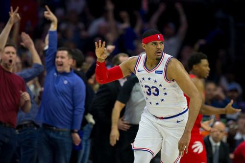 Tobias Harris struggled with his role as the Sixers' fourth offensive option