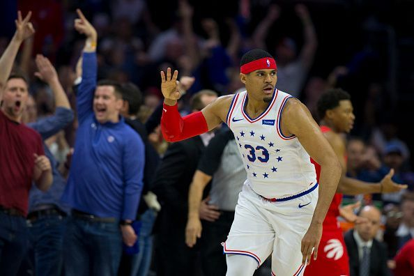 Tobias Harris struggled with his role as the Sixers