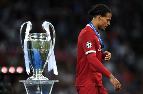 van Dijk has to lead Liverpool to win the Champions League.