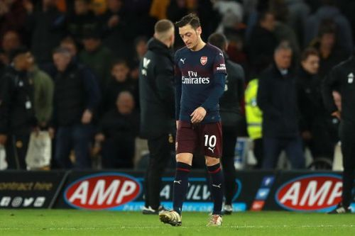 Mesut Ozil wants to kick on at Arsenal