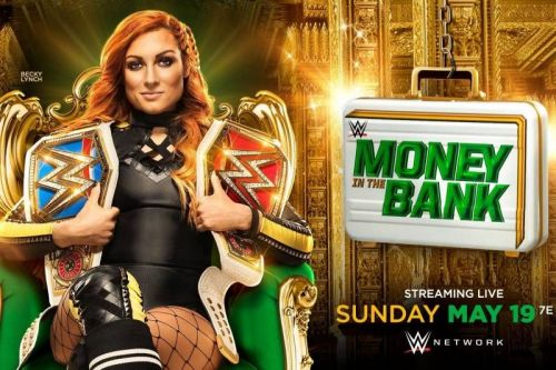 The official Money in the Bank poster