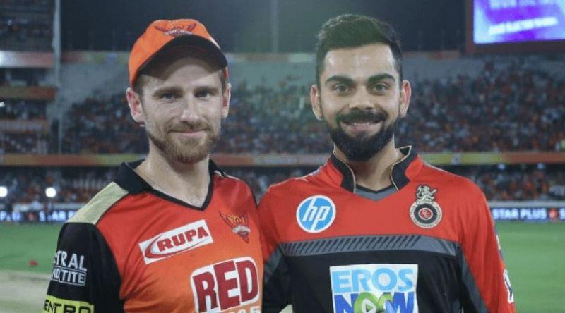 बैंगलोर और हैदराबाद के कप्तान